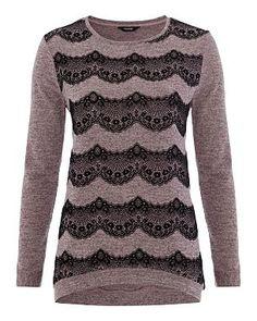 Latest Fashion For Women, Womens Fashion, Lace Sweater, Asda, Sweaters, Beautiful, Tops, Style, Swag