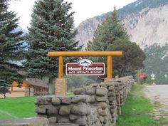Mount Princeton Hot Springs Resort in Nathrop Colorado.  A great mountain trip to take in a new Buick Verano.