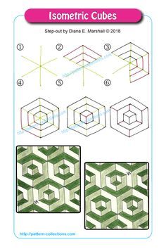 Isometrics Cubes von Diana E. - Kochen - Informations About Isometrics Cubes von Diana E. Zentangle Drawings, 3d Drawings, Doodles Zentangles, Doodle Drawings, Doodle Art, Zen Doodle, Drawing Art, Drawing Ideas, Tangle Doodle