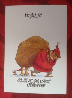 Jul | Susan Billmark | Sida 3 Santa Mail, Christmas Cards, Christmas Decorations, Painting & Drawing, Scandinavian, Diy And Crafts, Art Photography, Funny Pictures, Artsy