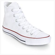 Converse Unisex Chuck Taylor All Star High Top Sneakers Optical White (11 D(M), Optical White) (*Partner Link)