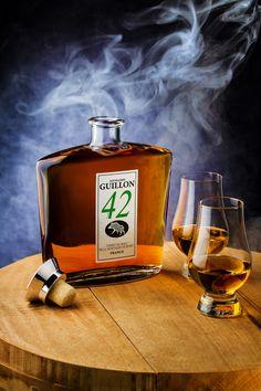 Frédéric LECHAT Photographe | Distillerie GUILLON - l'esprit du malt | #illustration #packaging #alcool #guillon