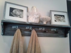 Master bath shelf!