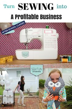 Want to turn your love for Sewing into a profitable business? Check out: http://www.sewfunstudios.com to get the details on how to own your own Sew Fun Studios. This mobile business allows you to work from home and then set up your classes, birthday parties, after school programs etc easily! This booming franchise company supports you the entire way. I LOVE Sew Fun Studios! #sewfunstudios