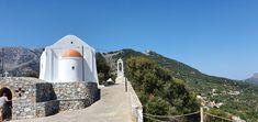 Kreta-Prophet Elias Kirche Kirchen, Travelling, Park, Mosque, Crete, Temples, Parks