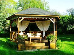 Bahçe, Teras, Balkon Dekorasyonu çardak – Dekorasyon Önerileri