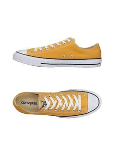 d9f38e52 CONVERSE ALL STAR Men's Low-tops & sneakers Yellow 11.5 US Модный Дизайн,  Покупка