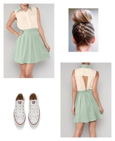 """Untitled #95"" by hale94 ❤ liked on Polyvore featuring Converse"