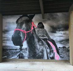 Nuovo pezzo dello street artist statunitense jetsonorama.