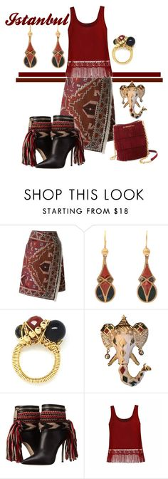 """""""istanbul"""" by rellenj ❤ liked on Polyvore featuring Tory Burch, Black & Sigi, Kenneth Jay Lane, Dsquared2, Ally Fashion and Burberry"""