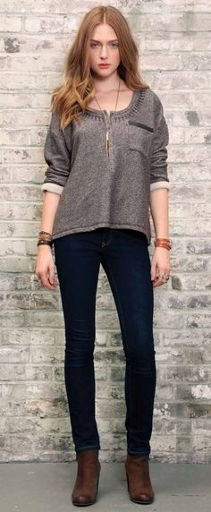 Gentle Fawn Sweater in light brown. <3