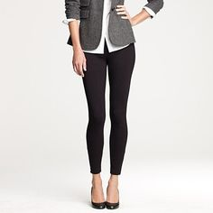 New favorite pant: Pixie from J.Crew.  So cute with flats or boots.  Love these pants!