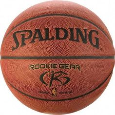 Buy Spalding Rookie Gear Indoor/Outdoor Composite Youth Basketball at Discounted Prices ✓ FREE DELIVERY possible on eligible purchases. Basketball Games For Kids, Basketball Equipment, Basketball Tricks, Indoor Basketball, Basketball Skills, Best Basketball Shoes, Custom Basketball, Basketball Pictures, Basketball Legends
