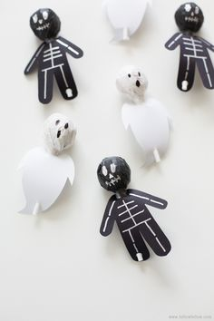 DIY Spook lollies #traktatie