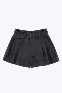 Marc Jacobs Belted High Waisted Shorts