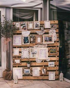 Ideia de como usar paletes na decoração!❤️ Foto: This Modern Love