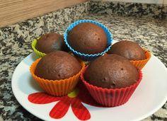 Magdalenas de chocolate al vapor para #Mycook http://www.mycook.es/receta/magdalenas-de-chocolate-al-vapor