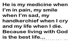 quotediaryofficial:  CLICK HEREfor more life, love, friendship and inspiring quotes! God Of Wonders, When I Die, Word Of Faith, Im Sad, I Smile, Life Is Good, Me Quotes, Crying, Inspirational Quotes