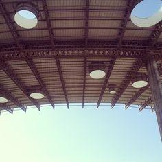 Cobertura do estádio Kleber Andrade - ES