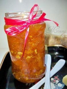 Reteta culinara Gem de portocale cu ghimbir din categoria Dulceata / Gem. Cum sa faci Gem de portocale cu ghimbir