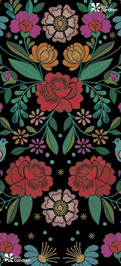 234584458_April2017_Embroidery Floral_wallpaper.jpg 491×1080 pikseli