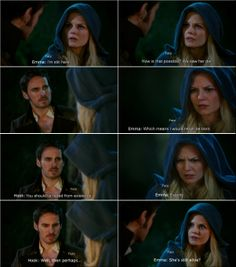 """Hook and Emma , #CaptainSwan, - """"There's No Place Like Home"""" - 3 *22"""