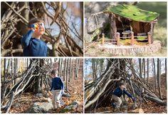 Воскресный день на природе – идеальный семейный выходной! Выбравшись всей семьей в лес попробуйте построить из веток небольшой шалаш. Тут несомненно понадобится помощь взрослых, но и дети, вдохновившись идеей поиграть в таком домике, обычно прекрасные помощники. Если большая конструкция вам не под силу, то можно соорудить маленький домик для фей, используя для этого природные материалы.