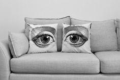 Amanda Treder: Set of Eyes Pillow Covers