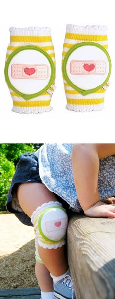 Adorable knee pads for toddlers ( I know a couple of kids who really need these)