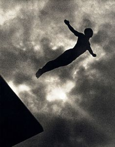 leni riefenstahl | diver competing at the 1936 summer olympics in berlin