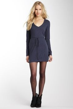 V-Neck Tie String Dress on HauteLook. I want this dress so bad! #stitchfix