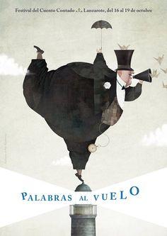 """Iban Barrenetxea es el narrador invitado de la segunda edición del festival 'Palabras al vuelo', cuyo cartel firma. Del 16 al 19 de octubre, Lanzarote """"se llenará de palabras, de ojos que se miran y corazones que laten al ritmo de una misma historia"""". ¡Todo un honor!"""