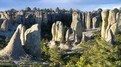 Barrancas del cobre -Valle de los Monjes by Carlos Adampol, via Flickr