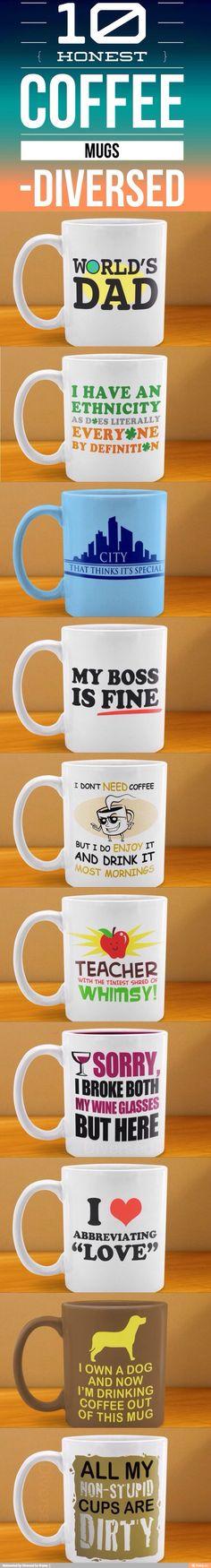 Honest coffee mugs