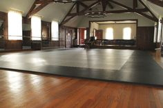 We shair the space with a dance shool. This mat works as we have to put the mats up and down. Thanks Ric Anderton Richard A Dublin, VA