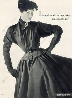 Jacques Fath & Balenciaga 1951 Photo Pottier, Racine