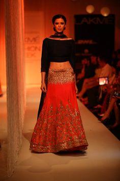 Opening of Lakme Fashion Week #Lakmefw 2013 - By Manish Malhotra (