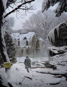 abandoned 'Winter' by LMorse