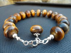 30% OFF  Tiger Eye Gemstone Sterling Silver by Jenalynscreations