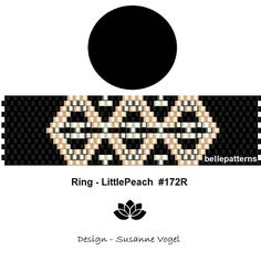 peyote ring patternPDF-Download 172R beading pattern