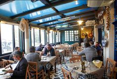 Where to Eat in Athens Greece | Psariston Restaurant, in Neo Iraklio[Kalavriton 16, Iraklio 141 21, Greece, psariston.gr, +30 21 0285 0746] This is a great fish tavern in Neo Iraklio. The design of the restaurant is very traditional and it doesn't look expensive or fancy, yet the food is amazing and it is frequented by many Greeks. You need to do a reservation before going. Expect to pay 30 euros per person.