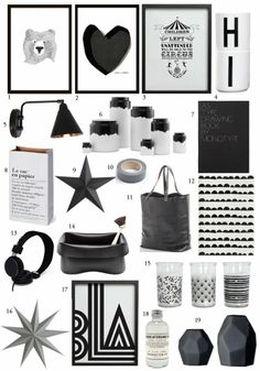 BODIE and FOU★ Le Blog | Effortless chic | French Interiors | Inspiring Design: BODIE and FOU Christmas Gift guide : Monochrome gifts