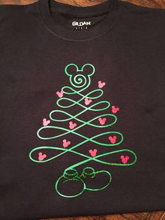 Mickey Mouse Christmas Tree Disney inspired shirt adult kids toddler sizes - Christmas T Shirt - Ideas of Christmas T Shirt - Mickey Mouse Christmas Tree Disney inspired shirt adult kids Mickey Mouse Christmas Tree, Mickey Mouse Crafts, Disney Christmas Shirts, Mickey Y Minnie, Christmas Svg, Christmas Themes, Mickey Mouse Shirts, Disney Shirts, Mickey Ears