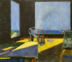 urgetocreate: Richard Diebenkorn, Interior with View of the Ocean