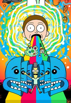 Rick and Morty rick and morty Pinterest Rick and