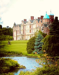 Sandringham House, Norfolk, England. One of Queen Elizabeth's favorite places to stay.