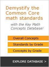 Pre K-12 math curriculum under the Common Core State Standards.