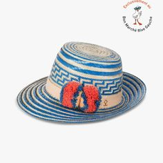 Chapeau ethnique bicolore Simea - YOSUZI - Find this product on Bon Marché website - Le Bon Marché Rive Gauche