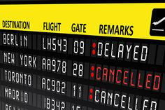 What's next if your #flight gets #delayed or #cancelled?
