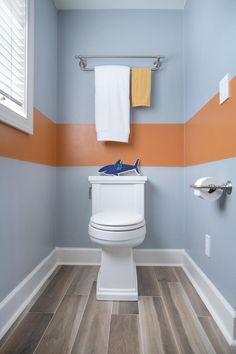 Kids Bathroom Photos from DIY Network Blog Cabin 2016 >> http://www.diynetwork.com/blog-cabin/2016/kids-bathroom-pictures-from-diy-network-blog-cabin-2016-pictures?soc=pinterest